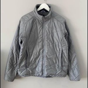 The north face Aconcagua Jacket silver large
